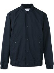 Julien David Bomber Jacket Blue