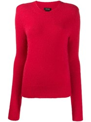 Isabel Marant Flora Jumper Red