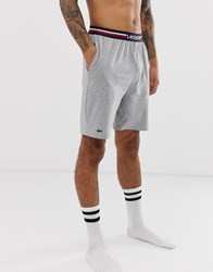 Lacoste Lounge Shorts In Grey