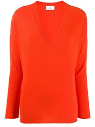 Allude V Neck Jumper 60
