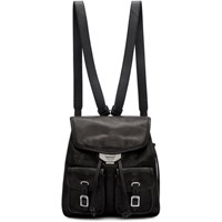 Rag And Bone Black Small Field Backpack
