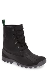Kamik Men's Yukon6 Waterproof Work Boot Black Leather
