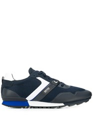 Hugo Boss Low Top Trainers Blue