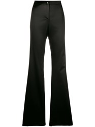 Romeo Gigli Vintage Flared Tailored Trousers Brown