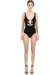 Moeva Lycra Cutout One Piece Swimsuit