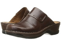 Josef Seibel Carole Marone Roma Clog Shoes Brown
