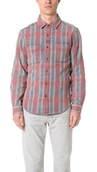 Current Elliott Classic Fit 2 Pocket Shirt Aztec Plaid