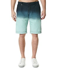 Buffalo David Bitton Ombre Shorts Blue