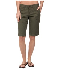 Prana Larissa Knicker Cargo Green Women's Casual Pants
