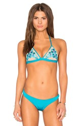 Beach Bunny Tigerlilly Top Blue