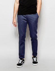 Dickies 872 Work Pant Chino In Slim Fit Navy