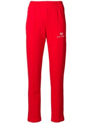 Chiara Ferragni Active Track Trousers Red