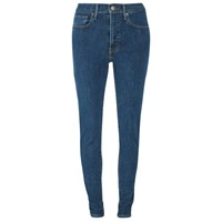 Levi's Women's Mile High Super Skinny Jeans Blue Mirage
