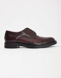 Base London Steam Hi Shine Derby Oxblood