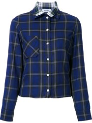 Courreges Double Layered Shirt Blue