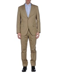 Luigi Bianchi Mantova Suits And Jackets Suits Men Sand