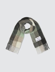 Acne Studios Vally Scarf Multicolor