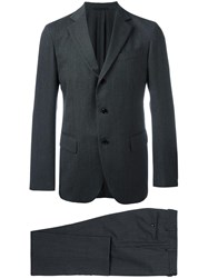 Massimo Piombo Mp Two Piece Suit Grey