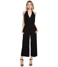 Nicole Miller Eric Halter Playsuit Black Women's Jumpsuit And Rompers One Piece