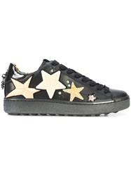 Coach C101 Star Patches Sneaker Black