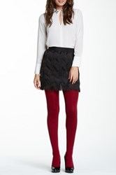Magid Fleece Lined Tights Red
