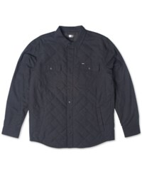 Rip Curl Tipton Quilted Long Sleeve Shirt Jacket