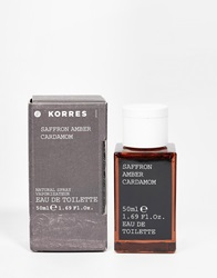 Korres Saffron Amber Agarwood And Cardamon Aftershave 50Ml Multi