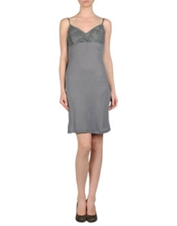 Niu' Short Dresses Grey