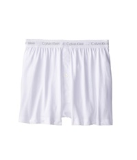Calvin Klein Underwear Cotton Classic Knit Boxer 3 Pack Nu3040 White Men's Underwear