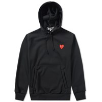 Comme Des Garcons Play Pullover Hoody Black