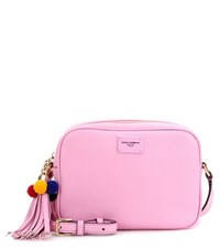 Dolce And Gabbana Leather Cross Body Bag Pink