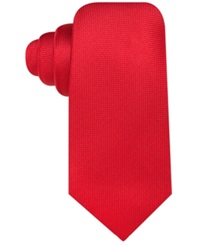 Countess Mara Pique Solid Tie Red