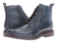 Base London Manby Navy Men's Shoes