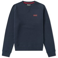 Barbour International Essential Crew Sweat Blue