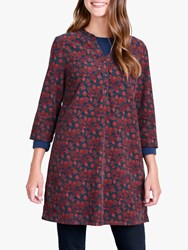 Seasalt South Terrace Tunic Top Burnished Berries Copper