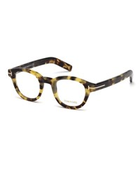 Tom Ford Chunky Square Optical Frames Yellow Tortoise Multi