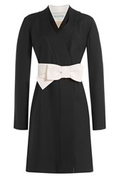 Valentino Wool Silk Evening Jacket Black