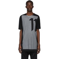 11 By Boris Bidjan Saberi Black Block Dye T Shirt