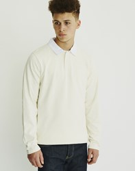 The Hundreds Valor Long Sleeve Rugby White