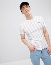 Henri Lloyd Breton Stripe T Shirt In White