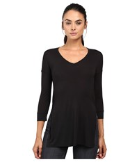 The North Face Nueva 3 4 Tunic Tnf Black Women's Long Sleeve Pullover