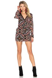 Bcbgeneration Lace Romper Red