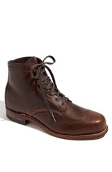 Wolverine Men's '1000 Mile Addison' Wingtip Boot Brown