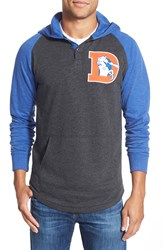 Mitchell Ness Mitchell And Ness 'Home Stretch Denver Broncos' Tailored Fit Hoodie Ash
