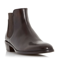 Episode Perlia Elastic Chelsea Boots Brown