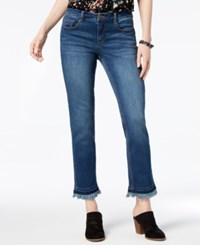 Styleandco. Style Co Frayed Slim Leg Jeans Created For Macy's Reese