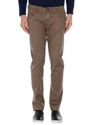 Re Hash Trousers Casual Trousers Men Light Brown