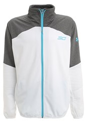Under Armour Sc30 Super30nic Tracksuit Top White Carbon Heather