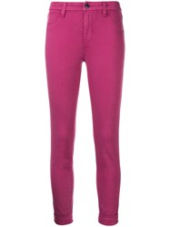 J Brand Skinny Jeans Pink And Purple