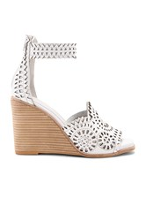 Jeffrey Campbell Del Sol H Wedge White